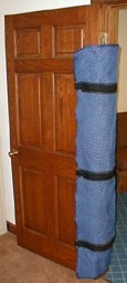 protect stair railings banisters moving doorways