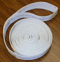 polyester furniture tie webbing with loop