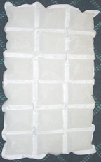 dehydrated gel sheets for shipping food